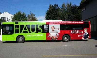 Fahrzeugbeschriftung Regionalbus
