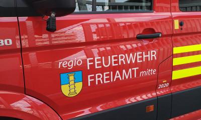 Beschriftung für Feuerwehrfahrzeug